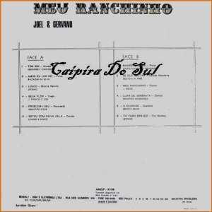Verso-Joel e Gervano - 1974