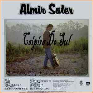 Verso-Almir Sater - 1988
