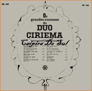 Verso-Duo Ciriema - 1964
