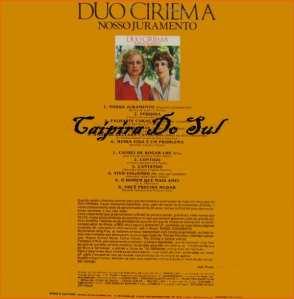 Verso-Duo Ciriema - 1979
