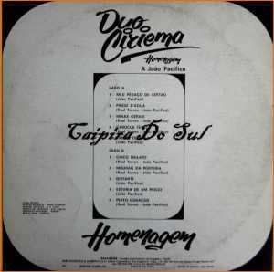 Verso-Duo Ciriema - 1983