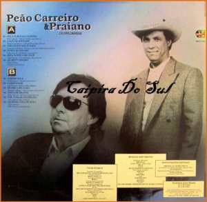 Verso-Peão Carreiro e Praiano - 1995