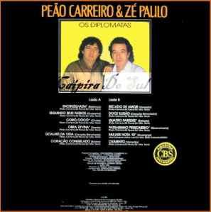 Verso-Peão Carreiro e Zé Paulo - 1989