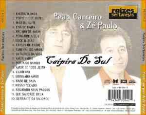 Verso-Peão Carreiro e Zé Paulo - 1998